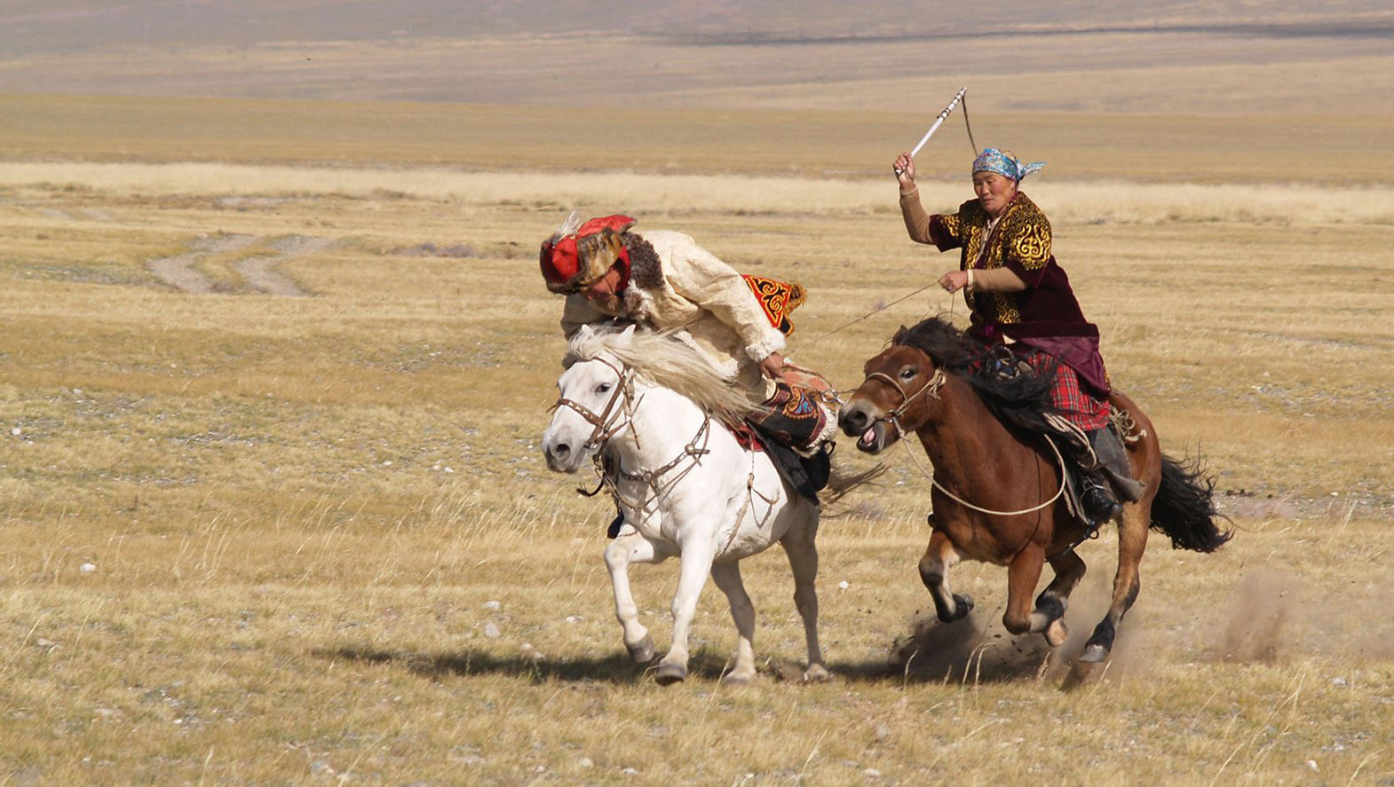 CATCHING A HUSBAND IN MONGOLIA