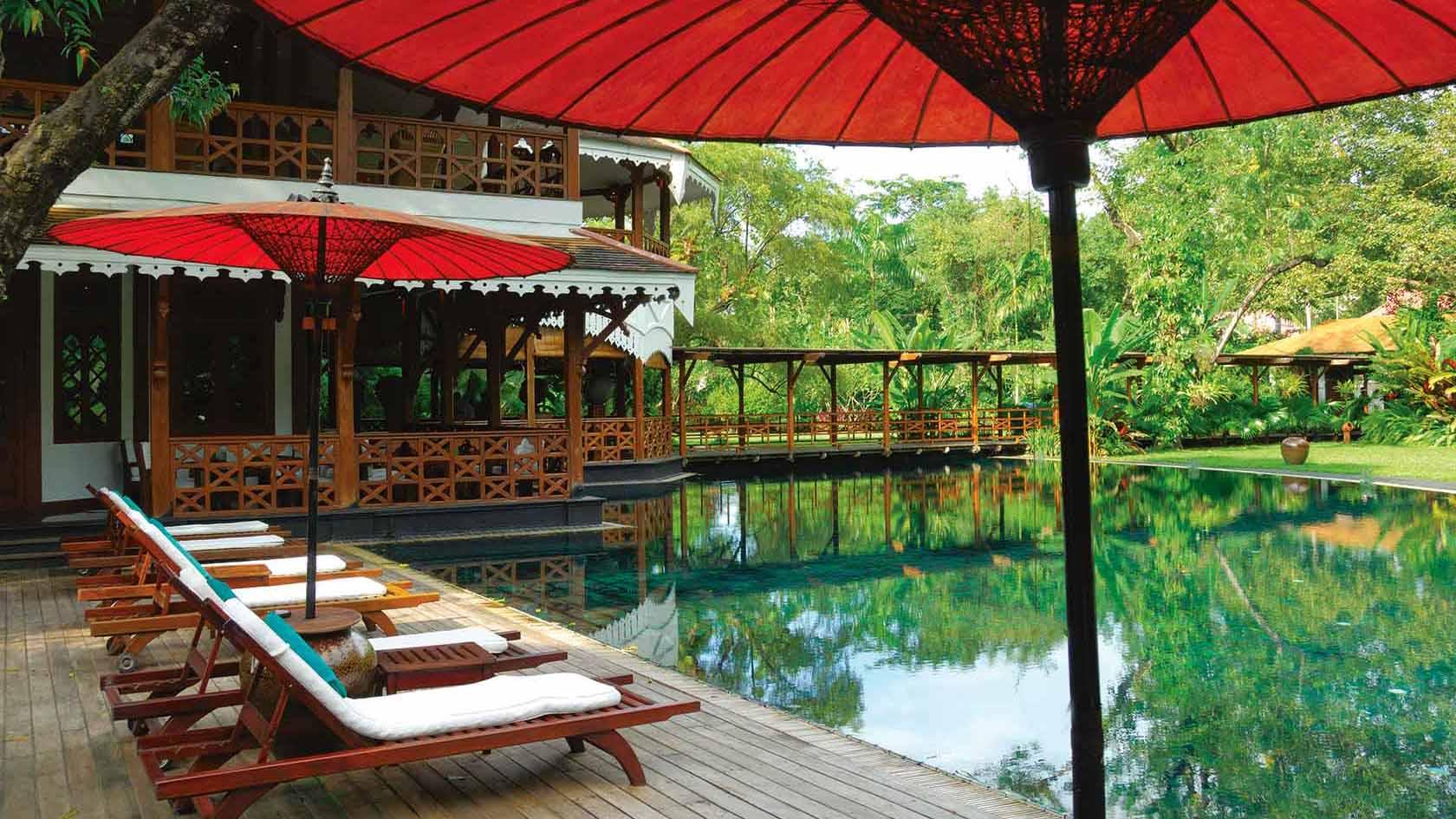 Governor's Residence Pool Yangon