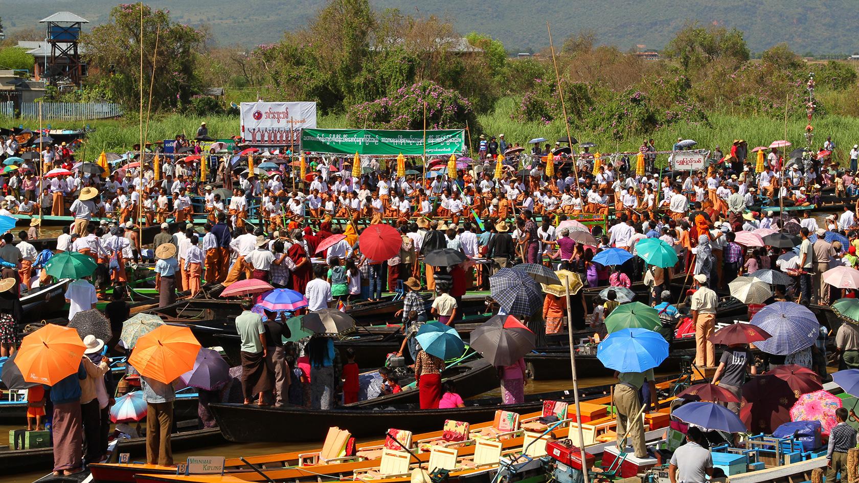 FESTIVAL TIME IN MYANMAR