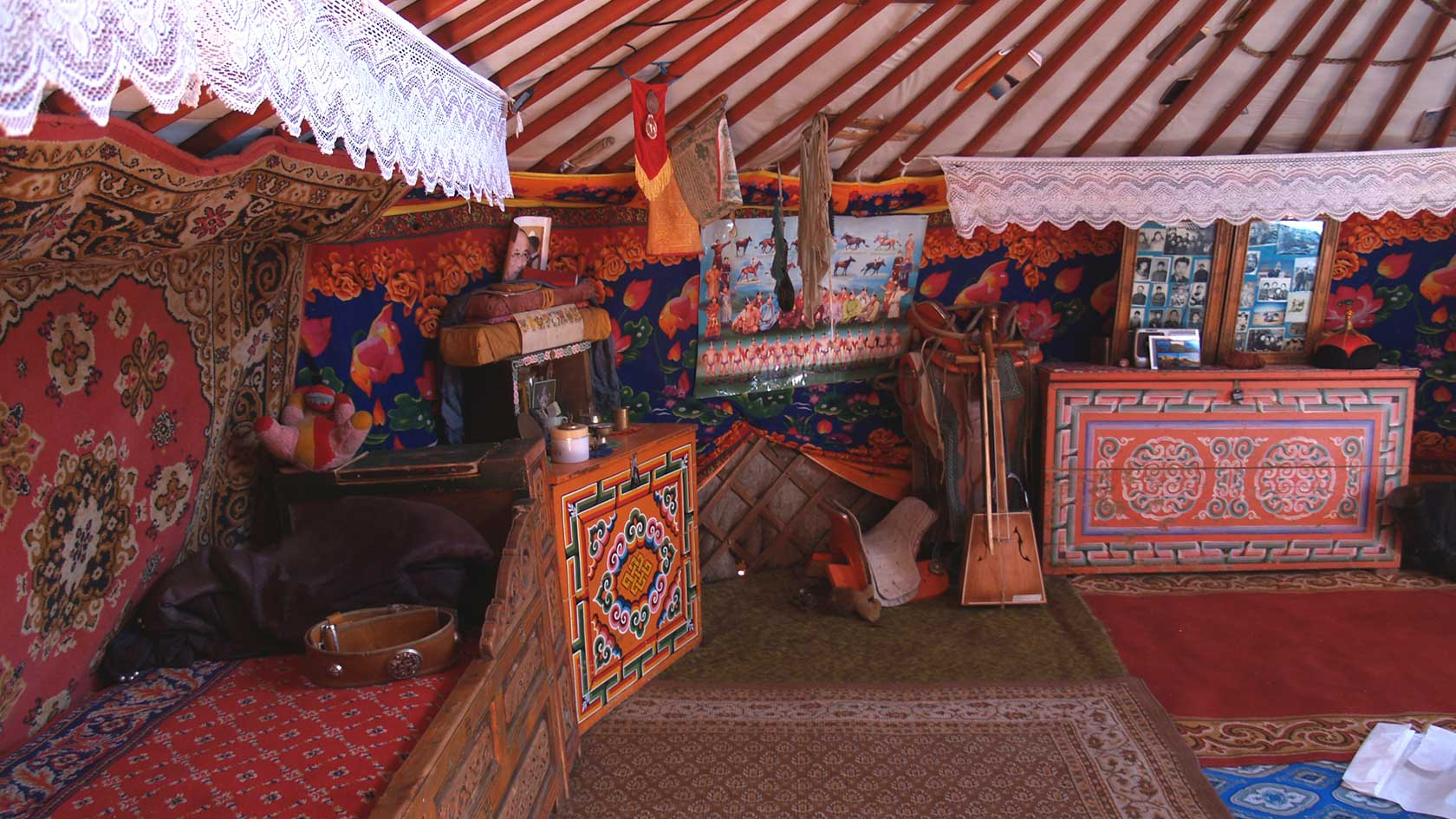 A NOMAD'S GER IN MONGOLIA