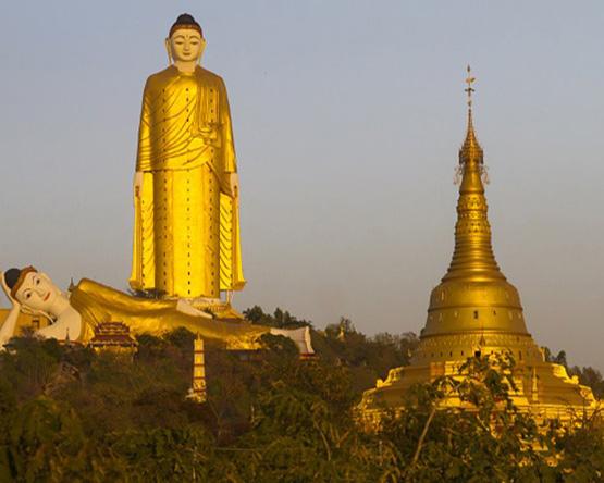 Cruise, trek and fly in Burma