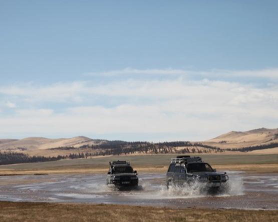 Off-road Mongolia