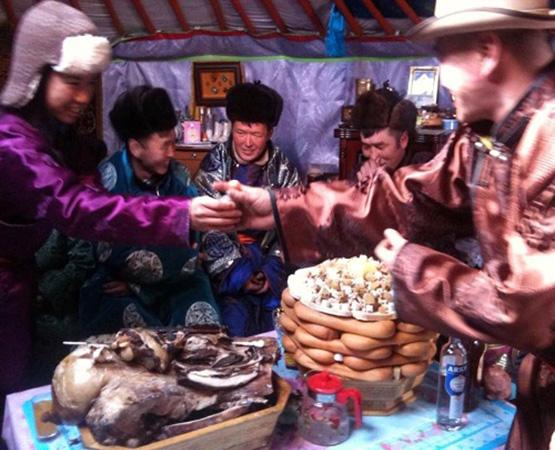 A Traditional Tsagaan Sar